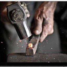 آهنگری,انسانگری